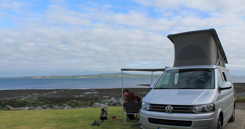 The wild atlantic way camper
